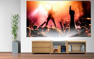 LS100 Short-Throw Laser Display offers contrast ratio of up to 2,500,000:1.