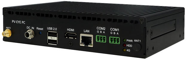 PL-81870 IoT Gateway features DC12V input with lockable connector.
