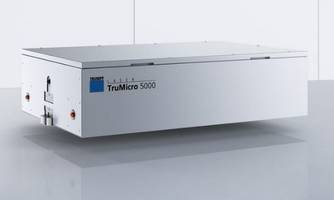 TRUMPF to Showcase Newest Laser Technology Products at Photonics West