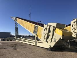 TeleStacker® Conveyor is suitable for frac sand applications.