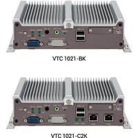 VTC 1021 In-Vehicle Computer features PoE ports.