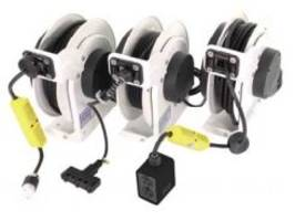 RTA Series Cord Reels come with 125 Volts slip ring.