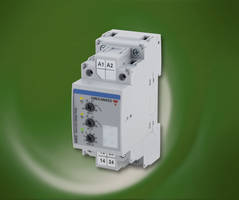 DUB72 Voltage Monitoring Relay comes with two independent relay outputs.
