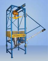 Master™ Bulk Bag Discharger comes with a scale system.