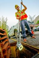 Quickview airHD+ Sewer Assessment Camera offers hands-free operation.