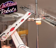 Doctor Who Theme Tune Inspires the Creation of ST Robotics Cocktail Robot