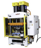 Electric Presses feature interlocked safety maintenance blocks.