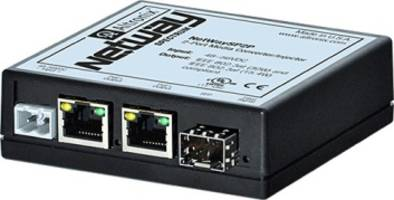 NetWay™ Spectrum Converter/Injector reduces cabling requirement.