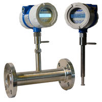 Model FT4X Thermal Mass Flow Meter comes with data logger.