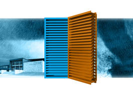 XP500WD Louvers are rated to FEMA standards.