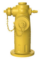 Jones® Triton® Fire Hydrant provides comes with an auxiliary port at the top.