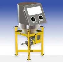 Model VMF-28/CP Feeder features an integrated scale for accurate feeding.