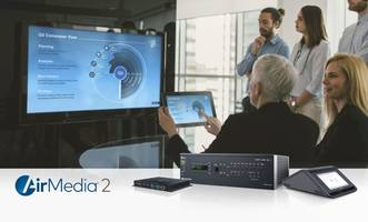AirMedia® 2.0 Technology supports standard network security protocols.