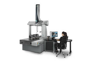 Global S Coordinate Measuring Machine comes with PC-DMIS or QUINDOS software.