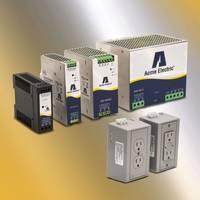 DM Series Power Supplies offer adjustable output voltage.