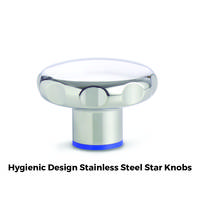 GN 5435 Stainless Steel Star Knobs are compliant to RoHS standards.