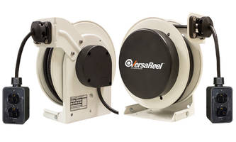 VersaReel™ Reel features separate mounting base plate.