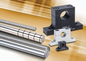 SureMotion® Linear and Rotary Shafts feature 10RMS surface finishing.