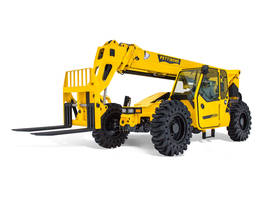 T944X Telehandler offers a maximum lift capacity of 9,000 lbs.