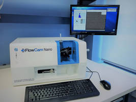 FlowCam® Nanoparticle Analyzer detects images automatically.