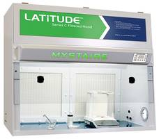 Latitude Series C Filtered Hoods are designed with HEPA filtration.
