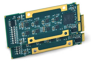 AcroPack® Series mPCIe Boards are compliant to RoHS standards.