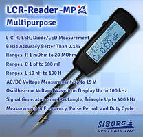LCR-Reader-MP Multimeter meets FCC standards.