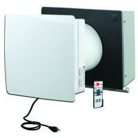 ECO-FLO Energy Recovery Ventilators feature wireless remote control.
