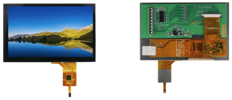 Microtips' Bar Type TFT Display offers a 5.0 in. full range design.