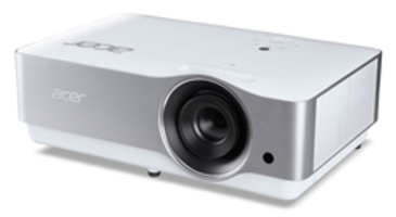 Premium Home Theater Projector features a 120-inch 4K UHD resolution display in a compact design.