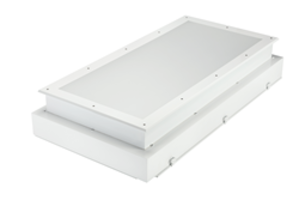 Kenall's SimpleSeal™ Cleanroom Luminaires feature simple design for easy access.