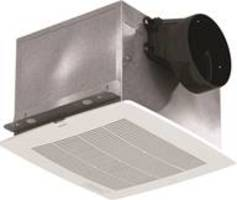 Greenheck's new bathroom exhaust fan features an electronically commutated motor.