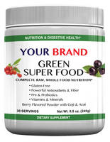 TruBody Wellness Offers Green Super Food Private Labeling