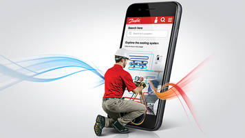 Danfoss's digital HVACR service tool saves time in the field.