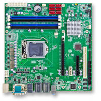 MB-i89Q0 Industrial Motherboard comes with four DDR4 long-DIMM sockets.