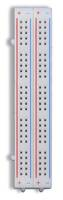 Global Specialties Solderless Breadboards come with interlocking tabs.
