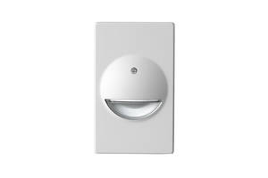 NiteWay™ LED Lights come with an adjustable thru-wall box.