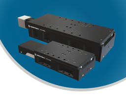 Crossed-Roller Bearing Ball-Screw Linear Stages Offer Superior Precision and Flexibility