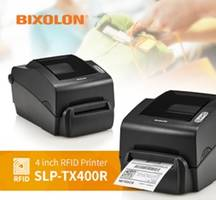 SLP-TX400R RFID Printer is compatible with UHF EPC Class 1, Gen 2 RFID labels.
