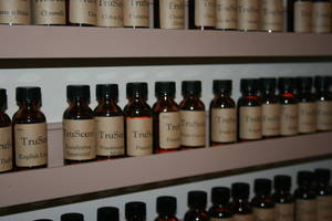 Fillmore's TruScent Fragrance Oils are used in candle making.