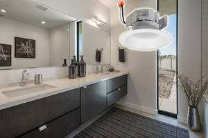 Onyx Series Retrofit Downlights offer a CRI of more than 90.