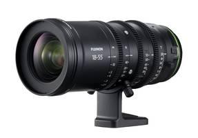 Fujifilm's MKX Cinema Lenses achieve F2.8 (max) and F22 (min) apertures.