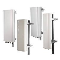 3 GHz Sector Antennas deliver VSWR ranging from 1.5:1 to 1.7:1.
