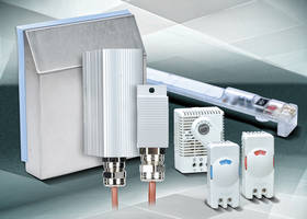 STEGO Enclosure Fan Hoods, Heaters, Thermostats and LED Lighting from AutomationDirect