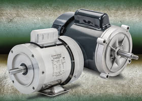 AC Motors from AutomationDirect are available in stainless steel and jet pump models.