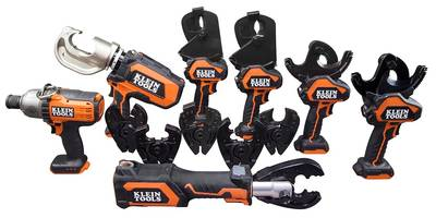 Klein® Tools Increases Cutting, Crimping and Drilling Power with Battery-Operated Tools