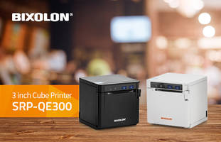 SRP-QE300 Receipt and Ticket Printer supports USB and Ethernet connectivity.