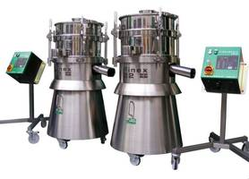 Industrial Sieve Eliminates Debris from Liquid Chocolate and Nut Pastes