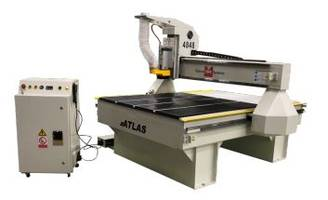 Atlas Series CNC Router from Techno provides ultra-smooth cut quality and edge finish.