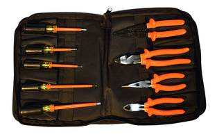9ELK-ZC 9-Piece Service Tool Kit comes with zippered case option.